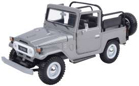 Motor Max - Toyota  - mmax79330gy : 1974 Toyota FJ40 convertible, grey