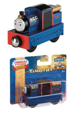 Mattel Thomas and Friends - Thomas and Friends Kids - MatBDG07 : Thomas and Friends Wooden Railway *Timothy*