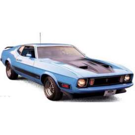 Ixo Premium X - Ford  - ixPRD399 : 1973 Ford Mustang Mach 1, blue