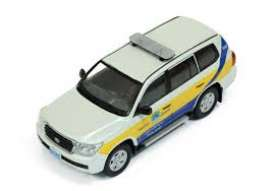J Collection - Toyota  - jc255 : 2010 Toyota Landcruiser 200 Qaqtar traffic Police, white