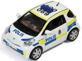 J Collection - Toyota  - jc247 : 2011 Toyota IQ Sweden Police, white