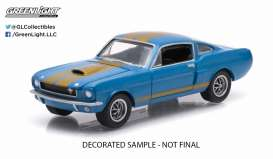 GreenLight - Shelby  - gl13120E : 1966 Shelby GT350, sapphire blue