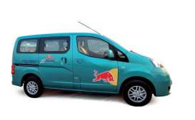 J Collection - Nissan  - jc269 : 2012 Nissan NV200 Red Bull Racing, blue