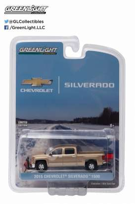 GreenLight - Chevrolet  - gl29841 : 2015 Chevrolet Silverado with Snow Plow