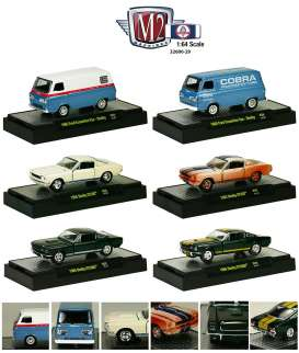 M2 Machines - Shelby  - M2-32600-29~6 : Shelby Release 29. Assortment of 6 (1 each model).