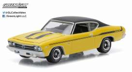GreenLight - Chevrolet  - gl13140B : 1969 Chevrolet Chevelle Copo Yenko *Muscle Series 14*, yellow/black