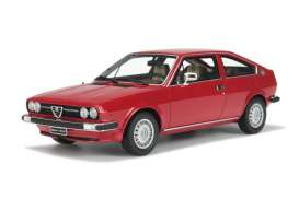 OttOmobile Miniatures - Alfa Romeo  - otto160 : Alfa Sud Sprint* resin series* , red