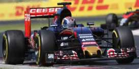 Spark - Toro Rosso  - spa18S184 : 2015 Toro Rosso STR10 4th Hungarian GP 2015 Race Version Max Verstappen, blue