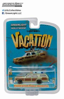 GreenLight - National Lampoon Truckster  - gl44730A : National Lampoons Vacation *Honky Lips Version*, 1979 Family Truckster Wagon *Hollywood series 12*