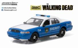 GreenLight - Ford  - gl44730F : Rick & Shanes 2001 Ford Crown Victoria Police Interceptor *Walking Dead*, Hollywood series 12.