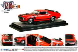 M2 Machines - Ford  - M2-40300-48A : 1970 Ford mustang Boss 302, red