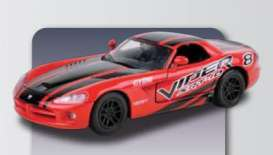 Motor Max - Dodge  - mmax73776 : 2003 Dodge Viper SRT-10 Racing #8, red/black