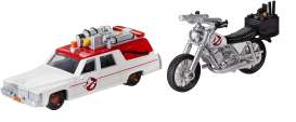 Hotwheels - Cadillac  - hwmvDRW73 : 1/64 & 1/50 Ghostbusters 2-pack In Nice Movie car Packaging. 1/64 Ecto Car + 1/50 Ecto Motorbike