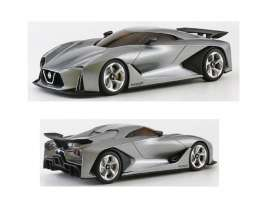 Kyosho - Nissan  - kyo3660gy : 2020 Nissan Skyline Concept Vision Gran Turismo, grey