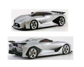 Kyosho - Nissan  - kyo3660s : 2020 Nissan Skyline Concept Vision Gran Turismo, ultimate silver