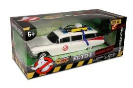 NKOK - Cadillac  - NKOK6612 : Classic Ecto-1 Ghostbusters 14inch (35.56cm) with Working Headlights. Full Functional Radio Control version (6+)