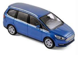 Norev - Ford  - nor270539 : 2015 Ford Galaxy, blue metallic
