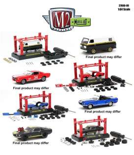 M2 Machines - Shelby Assortment/ Mix - M2-37000-09~6 : M2 Shelby Model kit series 09 mix of 6