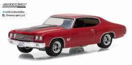 GreenLight - Chevrolet  - gl13170D : 1970 Chevrolet Chevelle SS *Muscle Series 17*, red F&F look-a-like