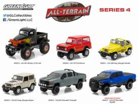 GreenLight - Assortment/ Mix  - gl35050~12 : *All Terrain Series 4* Mix box of 12.