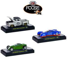 M2 Machines - Assortment/ Mix  - M2-32600CF03~6 : Chip Foose 2nd Release. assortment of 6 pieces