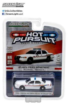 GreenLight - Ford  - gl42780C : 2008 Ford Crown Victoria Police Interceptor Atlanta Georgia *Hot Pursuit series 21*