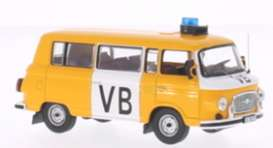 Ixo Ist Collection - Barkas  - ixist049 : 1970 Barkas B1000 Czech Police, yellow/white