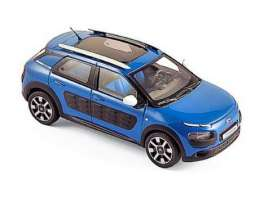 Norev - Citroen  - nor155473 : 2016 Citroën C4 Cactus, blue/black