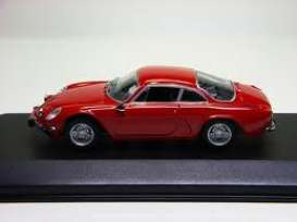 Renault Alpine - 1963 red - 1:43 - Minichamps - 430113602 - mc430113602 | The Diecast Company