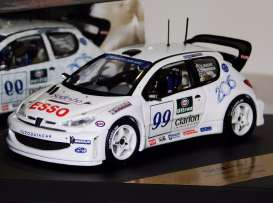 Peugeot  - 1999 white/blue - 1:43 - Skid - skm104 | The Diecast Company