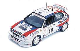 Toyota  - 1999 white/red/blue - 1:43 - Skid - skm99086 | The Diecast Company