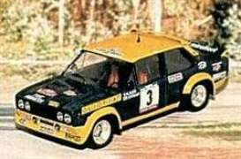 Fiat  - 1977 yellow/black - 1:43 - Trofeu - tro1403 | The Diecast Company
