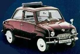 Goggomobil  - 1954 metallic wine red - 1:18 - Revell - Germany - 08977 - revell08977 | The Diecast Company