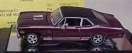 Chevrolet  - 1970 wine red/black roof - 1:64 - ERTL - ertl02351 | The Diecast Company