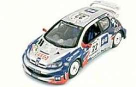 Peugeot  - 2000 silver/blue/red - 1:43 - Skid - skm00127 | The Diecast Company