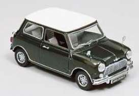 Morris  - 1967 green/white roof - 1:18 - Kyosho - g8101 - kyog8101 | The Diecast Company