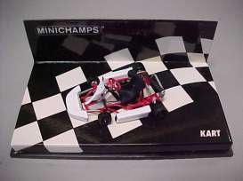 Kart  - white - 1:43 - Minichamps - 430090000 - mc430090000 | The Diecast Company