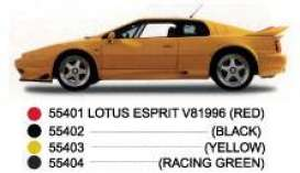 Lotus  - 1996 yellow - 1:43 - AutoArt - 55403 - autoart55403 | The Diecast Company