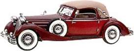 Horch  - 1937 red-brown - 1:24 - CMC - 015 - cmc015 | The Diecast Company