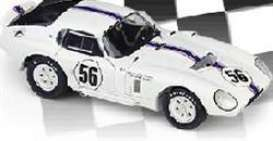 Cobra  - 1965 white/blue stripe - 1:18 - Exoto - exoto18005 | The Diecast Company
