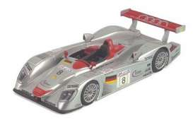 Audi  - 2000 silver/red wing - 1:43 - Minichamps - 430000908 - mc430000908 | The Diecast Company