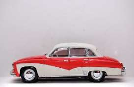 Wartburg  - 1956 red/white - 1:43 - Minichamps - 430015901 - mc430015901 | The Diecast Company