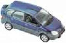 Renault  - 2000 metal blue - 1:43 - Universal Hobbies - eagle02103 | The Diecast Company