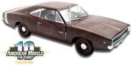 Dodge  - 1968 brown - 1:18 - ERTL - ertv02767 | The Diecast Company
