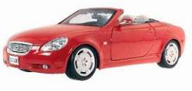 Lexus  - 2002 red - 1:18 - Maisto - 31629r - mai31629r | The Diecast Company