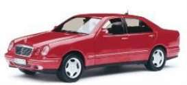 Mercedes Benz  - E320 2001 red - 1:18 - SunStar - 1172 - sun1172 | The Diecast Company