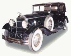 Packard  - 1930 black - 1:18 - Signature Models - sig18115bk | The Diecast Company