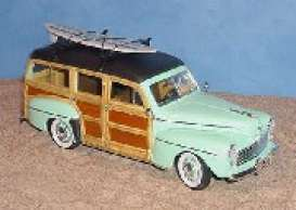 Ford  - 1948 lime green - 1:18 - Yatming - yat20028g | The Diecast Company
