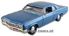 Chevrolet  - 1966 blue - 1:18 - ERTL - ertl33419 | The Diecast Company