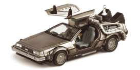 Delorean  - stainless steel - 1:43 - Vitesse SunStar - 24010 - vss24010 | The Diecast Company